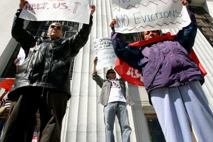Foreclosure Protestor