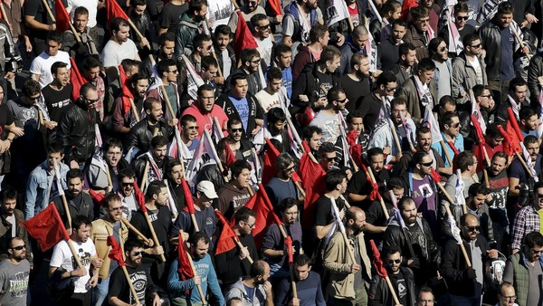 The People Speak: General Strike in Greece