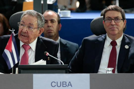 Raul Castro at Non-Aligned Nations Summit