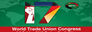 World Trade Union Congress in Durban, South Africa