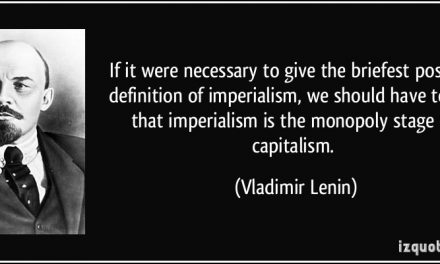 The Leninist Theory of Imperialism