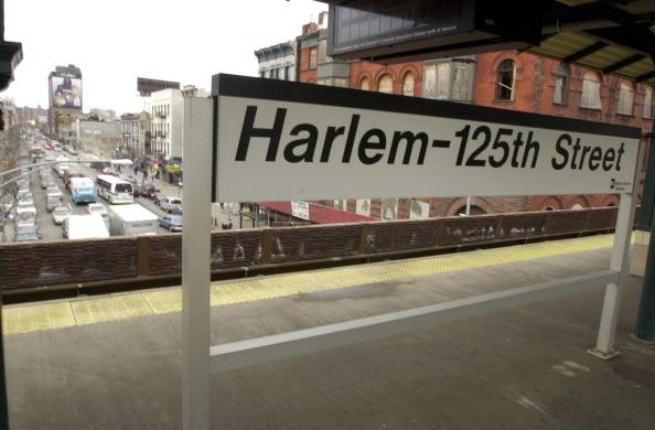 Santa Claus Has a Hard Time Finding Way to Harlem Slums