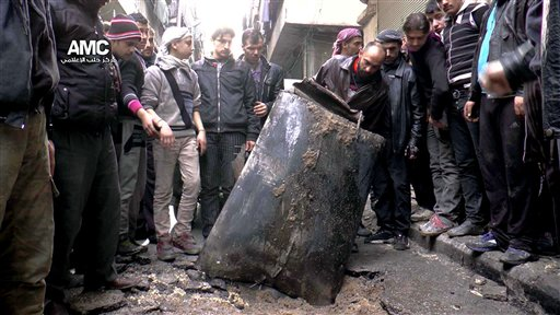 Syria: Consign Barrel Bombs to the Propaganda Graveyard
