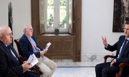Agence France Presse: Interview with Bashar al-Assad