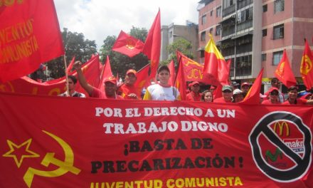 People's Anti-imperialist and Anti-fascist Front Launched by Venezuelan Communists