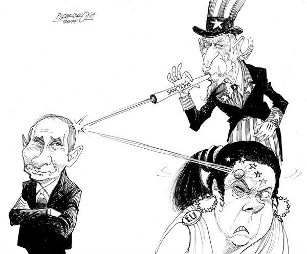 Collateral Damage: U.S. Sanctions Aimed at Russia Strike Western European Allies