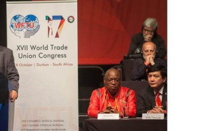 Protest Visa Denial to the WFTU General Secretary by the US Government