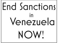 Open Letter in Support of Mediation Not Sanctions on Venezuela
