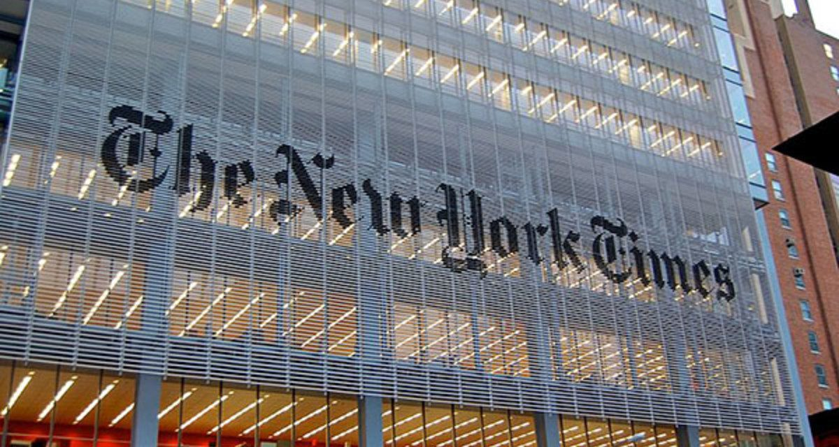 Top NY Times Editor: 'We Are Pro-Capitalism, the Times Is in Favor of Capitalism'