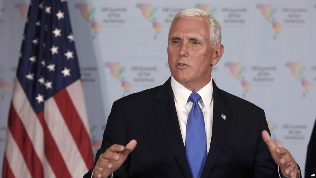 What Mike Pence Actually Said at the Summit of the Americas