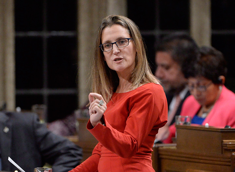 Freeland Fails to See Emerging Multipolar World