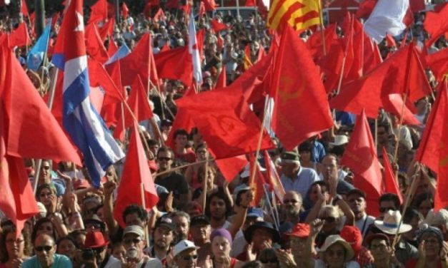 For Another Europe,  a Europe of the Workers and the Peoples