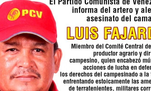 On the Murder of Luis Fajardo and Javier Aldana (Eng.; Esp.)