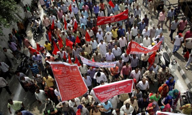 At Least 150 Million Indian Workers Hold Biggest Strike in History