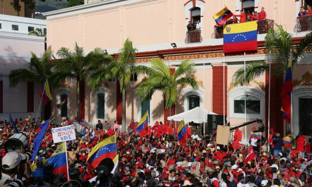 Communist Movement Worldwide Demands:  Hands Off Venezuela!
