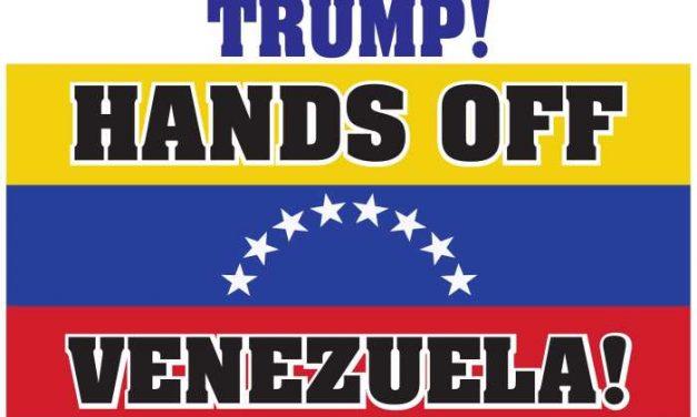 Communists Denounce Imperialist Intervention in Venezuela
