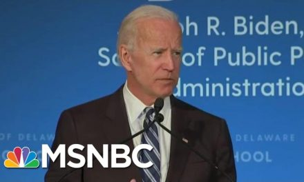 Comcast-Owned MSNBC in the Tank for Joe Biden's Presidential Run