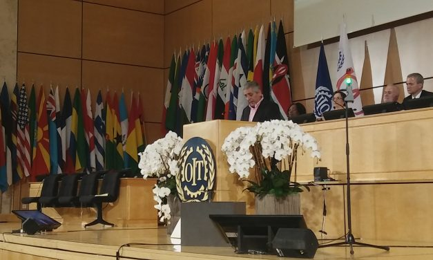 The Hope Lies in Our Struggles: WFTU Leader Addresses ILO