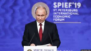 Seven Things  Putin Said about the US at St. Petersburg International Economic Forum
