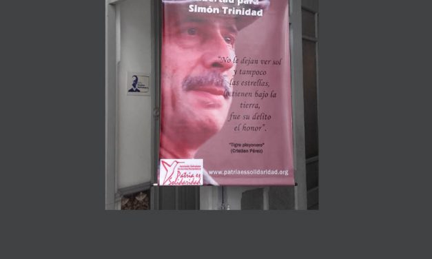 International Campaign to Free Simon Trinidad  Launched in Caracas