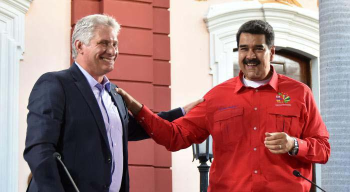 Cuban President: Cuba Will Never Renounce or Betray Its Principles or Venezuela