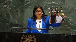 Venezuelan Vice-President Delcy Rodriguez at the United Nations