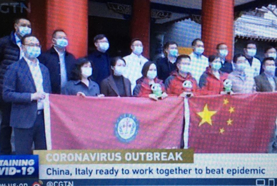 China Sends Anti-Epidemic Expert Team to Italy to Help Fight COVID-19