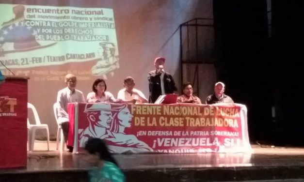 Venezuelan Workers: We Need Urgent Solidarity to Stop Imperialist Military Aggression (Eng.; Esp.)