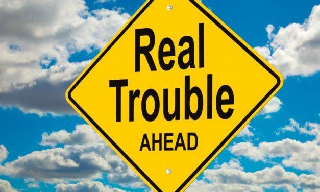 Trouble Ahead! Detour!
