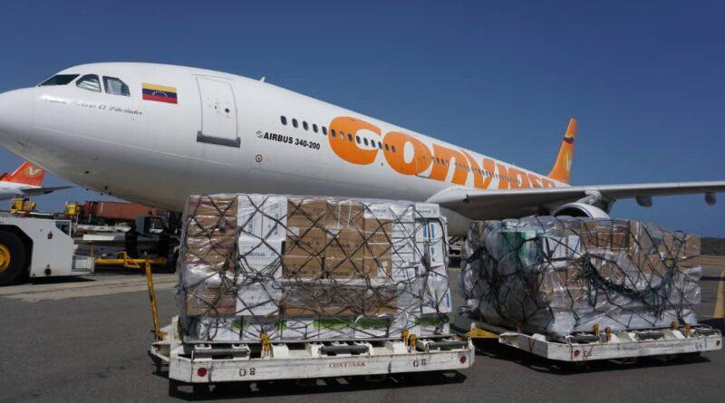 Real Humanitarian Aid! Venezuela Receives Tons of Medical Supplies from China