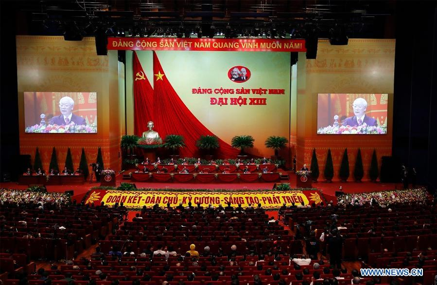 Vietnamese Communist Party Wraps up 13th National Congress