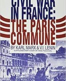 """From the Classics:  Marx's """"The Civil War in France"""""""