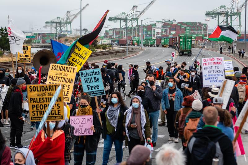 Oakland Dockworkers Refuse to Unload Israeli Cargo Ship