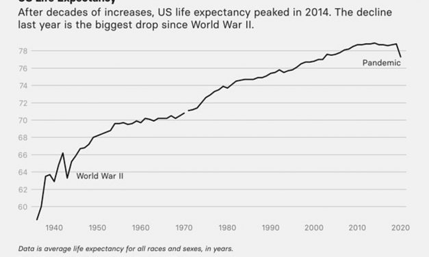 Life Expectancy in U.S. Dropped 1.5 Years in 2020, Largely From the Pandemic