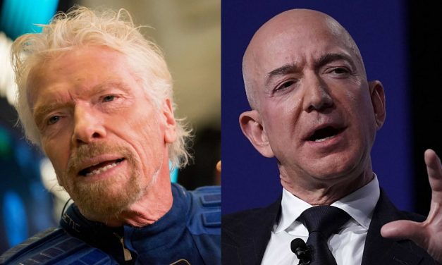 Oxfam: Billionaires Blast into Space as Billions Suffer on Planet Earth